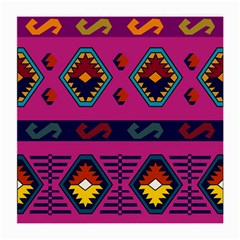 Abstract A Colorful Modern Illustration Medium Glasses Cloth