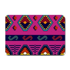 Abstract A Colorful Modern Illustration Small Doormat