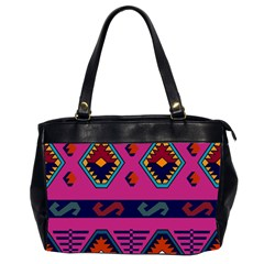 Abstract A Colorful Modern Illustration Office Handbags (2 Sides)