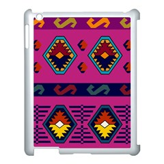 Abstract A Colorful Modern Illustration Apple iPad 3/4 Case (White)