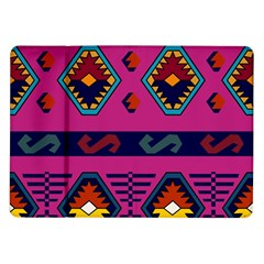 Abstract A Colorful Modern Illustration Samsung Galaxy Tab 10.1  P7500 Flip Case