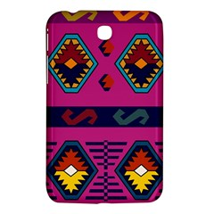 Abstract A Colorful Modern Illustration Samsung Galaxy Tab 3 (7 ) P3200 Hardshell Case