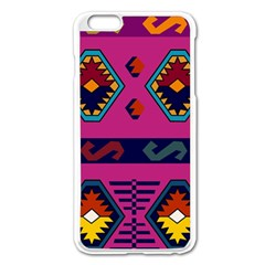 Abstract A Colorful Modern Illustration Apple iPhone 6 Plus/6S Plus Enamel White Case
