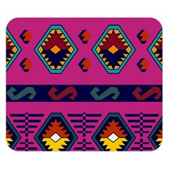 Abstract A Colorful Modern Illustration Double Sided Flano Blanket (Small)