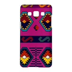 Abstract A Colorful Modern Illustration Samsung Galaxy A5 Hardshell Case