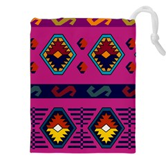 Abstract A Colorful Modern Illustration Drawstring Pouches (xxl)