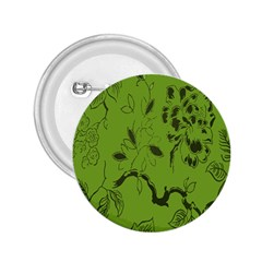 Abstract Green Background Natural Motive 2.25  Buttons