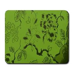 Abstract Green Background Natural Motive Large Mousepads