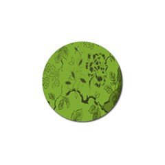 Abstract Green Background Natural Motive Golf Ball Marker (10 pack)