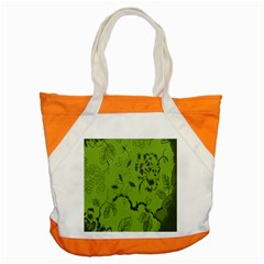 Abstract Green Background Natural Motive Accent Tote Bag