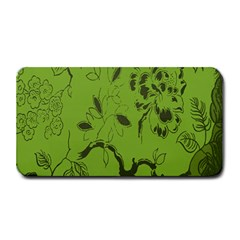 Abstract Green Background Natural Motive Medium Bar Mats