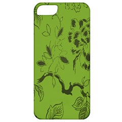 Abstract Green Background Natural Motive Apple iPhone 5 Classic Hardshell Case