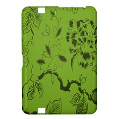 Abstract Green Background Natural Motive Kindle Fire HD 8.9