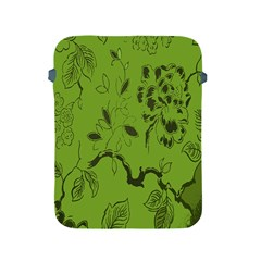 Abstract Green Background Natural Motive Apple iPad 2/3/4 Protective Soft Cases