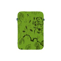 Abstract Green Background Natural Motive Apple Ipad Mini Protective Soft Cases