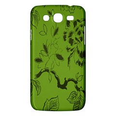Abstract Green Background Natural Motive Samsung Galaxy Mega 5.8 I9152 Hardshell Case