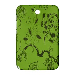 Abstract Green Background Natural Motive Samsung Galaxy Note 8.0 N5100 Hardshell Case