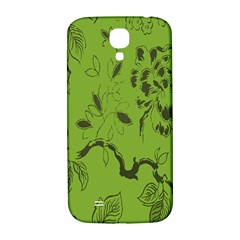 Abstract Green Background Natural Motive Samsung Galaxy S4 I9500/I9505  Hardshell Back Case