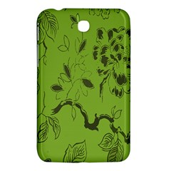Abstract Green Background Natural Motive Samsung Galaxy Tab 3 (7 ) P3200 Hardshell Case