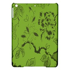 Abstract Green Background Natural Motive Ipad Air Hardshell Cases