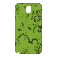 Abstract Green Background Natural Motive Samsung Galaxy Note 3 N9005 Hardshell Back Case
