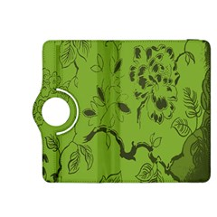 Abstract Green Background Natural Motive Kindle Fire HDX 8.9  Flip 360 Case
