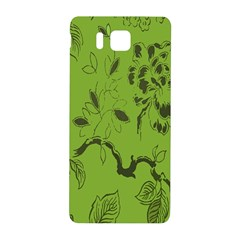 Abstract Green Background Natural Motive Samsung Galaxy Alpha Hardshell Back Case