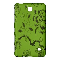 Abstract Green Background Natural Motive Samsung Galaxy Tab 4 (7 ) Hardshell Case