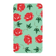 Floral Roses Wallpaper Red Pattern Background Seamless Illustration Memory Card Reader