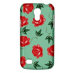 Floral Roses Wallpaper Red Pattern Background Seamless Illustration Galaxy S4 Mini