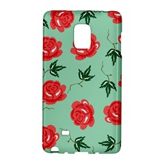 Floral Roses Wallpaper Red Pattern Background Seamless Illustration Galaxy Note Edge