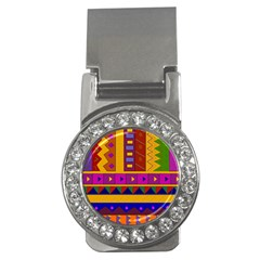 Abstract A Colorful Modern Illustration Money Clips (CZ)