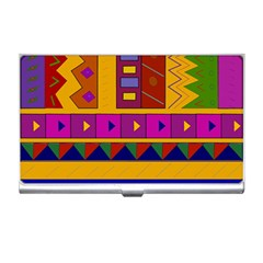 Abstract A Colorful Modern Illustration Business Card Holders