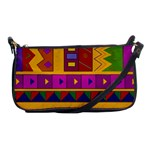 Abstract A Colorful Modern Illustration Shoulder Clutch Bags Front
