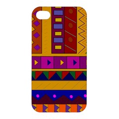 Abstract A Colorful Modern Illustration Apple iPhone 4/4S Hardshell Case