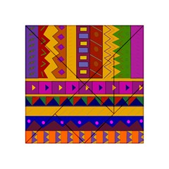 Abstract A Colorful Modern Illustration Acrylic Tangram Puzzle (4  X 4 )