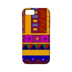 Abstract A Colorful Modern Illustration Apple iPhone 5 Classic Hardshell Case (PC+Silicone)