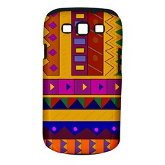 Abstract A Colorful Modern Illustration Samsung Galaxy S III Classic Hardshell Case (PC+Silicone)