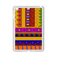 Abstract A Colorful Modern Illustration iPad Mini 2 Enamel Coated Cases
