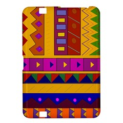 Abstract A Colorful Modern Illustration Kindle Fire HD 8.9