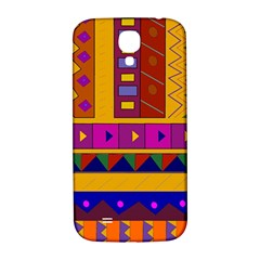 Abstract A Colorful Modern Illustration Samsung Galaxy S4 I9500/i9505  Hardshell Back Case