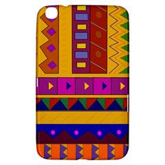 Abstract A Colorful Modern Illustration Samsung Galaxy Tab 3 (8 ) T3100 Hardshell Case