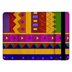 Abstract A Colorful Modern Illustration Samsung Galaxy Tab Pro 12.2  Flip Case