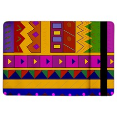 Abstract A Colorful Modern Illustration iPad Air 2 Flip