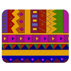 Abstract A Colorful Modern Illustration Double Sided Flano Blanket (medium)