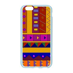 Abstract A Colorful Modern Illustration Apple Seamless iPhone 6/6S Case (Color)