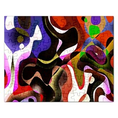 Colourful Abstract Background Design Rectangular Jigsaw Puzzl