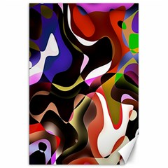 Colourful Abstract Background Design Canvas 20  X 30