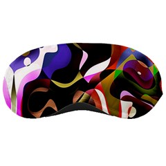 Colourful Abstract Background Design Sleeping Masks