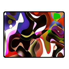 Colourful Abstract Background Design Fleece Blanket (Small)